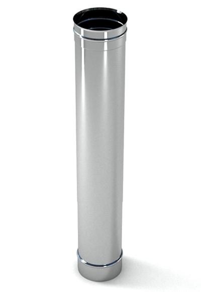 Дымоход Ferrum ДУ 120 нержавеющая сталь L=0,5м