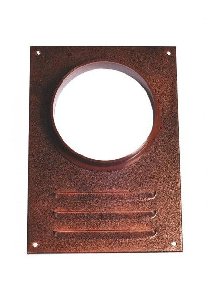 Решетка вентиляционная Elikor 126 коричневый