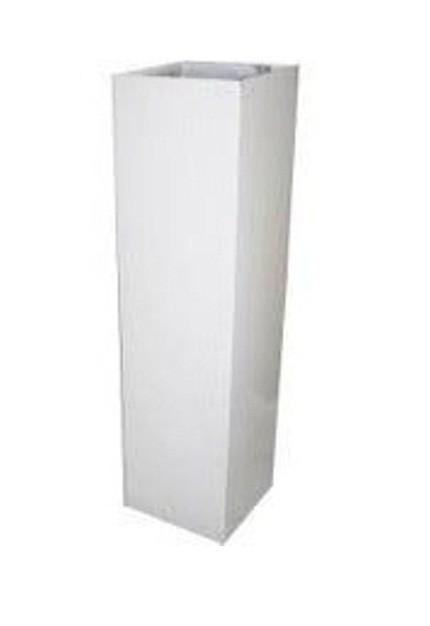 Труба вентиляционная Elikor 126 малая белая
