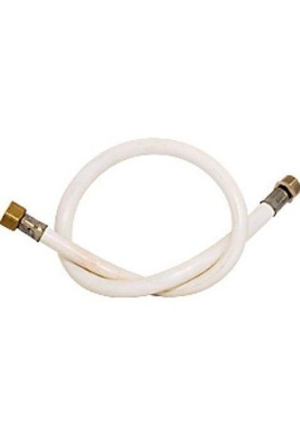 Шланг газовый Конструкт 200см резиновый белый гайка штуцер