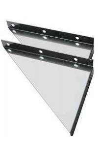 Консоль К3 (нержавеющая сталь 2 шт.) L = 400мм Ferrum