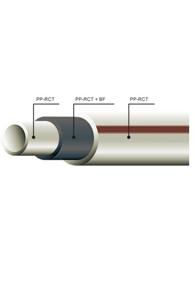 ППР Труба Fiber Basalt Plus 20x2.8мм