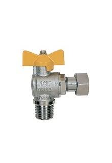 Кран шаровый газовый Itap 062 1/2 H-B угловой бабочка