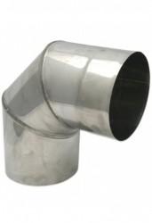 Колено Ferrum ДУ 110 нержавеющая сталь