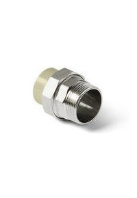 ППР Pro Aqua муфта комбинированная разъёмная (наружная резьба) 32-1