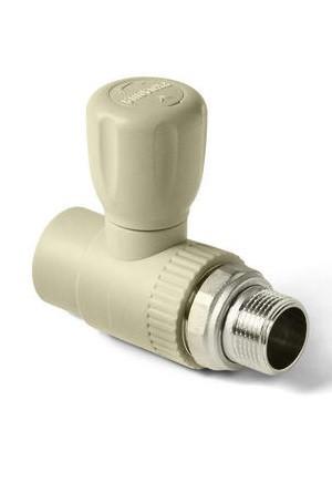 ППР Pro Aqua кран шаровый для радиатора прямой 25-3/4
