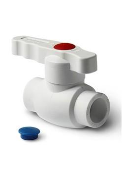 ППР Pro Aqua белый кран шаровый 25