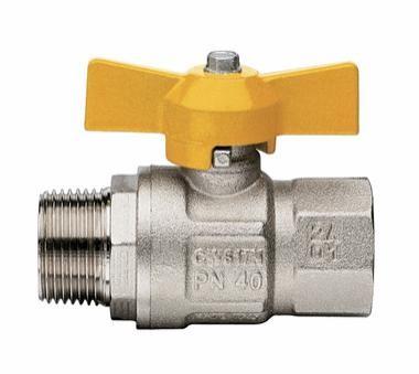 IT-IT 069 (10) Кран газовый полный проходной бабочка Н/В 12