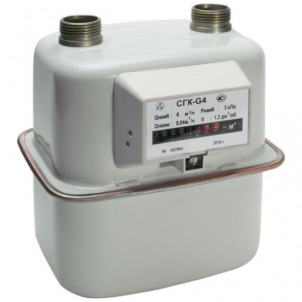 Счетчик газа СГК-G4 Сигнал левый (аналог Воронежского)