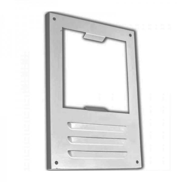 Вентиляционная решетка Elikor 126 квадратная серый антик