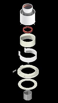 Адаптер вертикальный KRATS