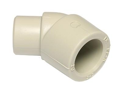 ППР угольник Ekoplastik 45 градусов внутренний-наружный 20мм