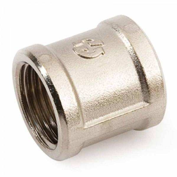 GF (10) Муфта ВВ 3/4 никелированная