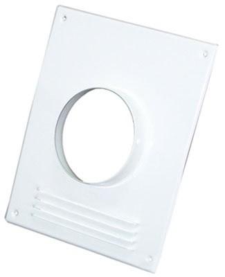 Торцевая площадка Флекс 130 металл белая с решеткой