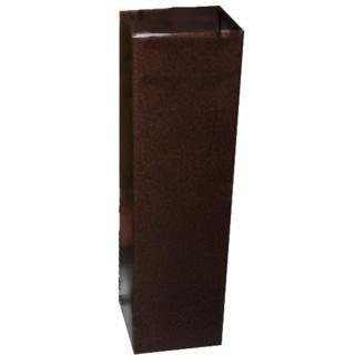 Вентиляционная труба  Elikor 126 большая античная бронза