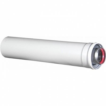 Удлинитель дымохода конденсационный D 60/100 L 0.25 м KRATS