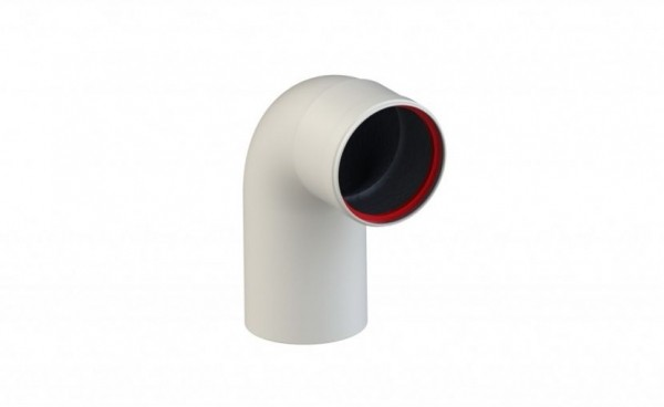 Угол конденсационный 90° D 80 (м-п) KRATS