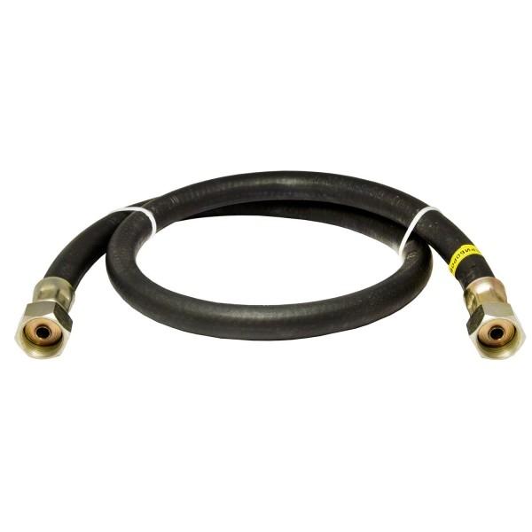 Шланг газовый Конструкт гайка/гайка 150 см резиновый