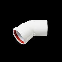 Отвод D 80 угол 45 M/F Sibio KRATS