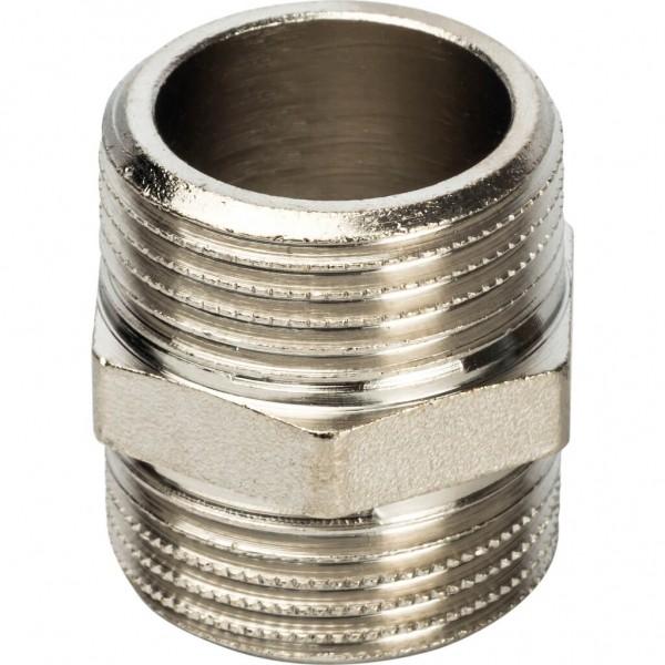 STOUT Ниппель НН 3/4 никелированный