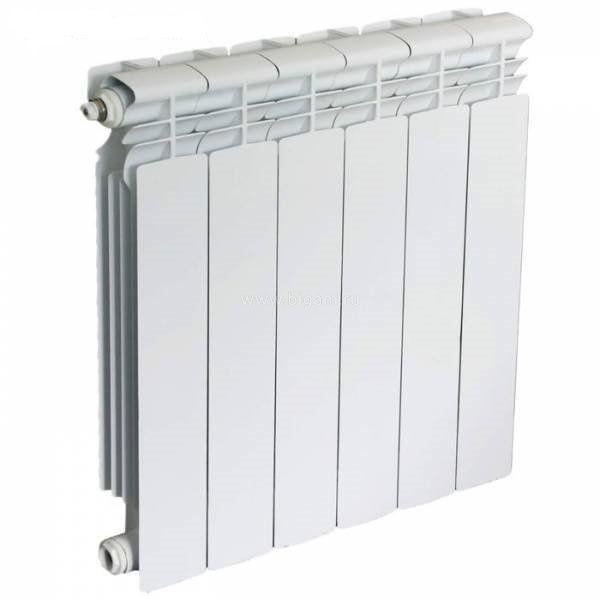 Радиатор алюминиевый Oasis 350/80 (6 секц)