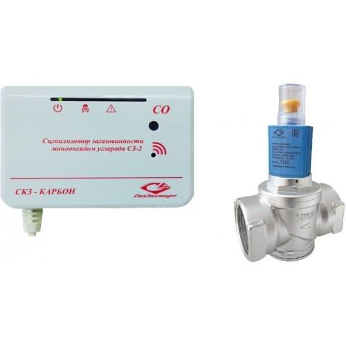 Система контроля загазованности КАРБОН -2 (СО) Ду25